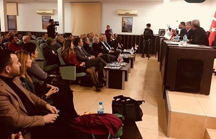 TÜRKONFED Başkanı Sn. Orhan TURAN ve TÜRKONFED Yönetim Kurulu Üyelerinin katılımı ile Çukurova SİFED'e bağlı derneklerimizin ev sahipliğinde 14 Aralık 2018 tarihin'de Adana, Tarsus ve Mersin'de bir dizi toplantı yapıldı.