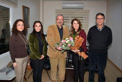 İŞKAD Yönetim Kurulu Başkanı  Berman Mantı ve Yönetim Kurulu ziyaretlerine devam ediyor.