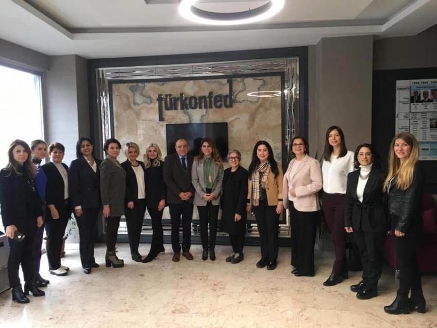 TÜRKONFED İDK ( İş Dünyasında Kadın Komisyonu)ilk toplantısı gerçekleştirildi.
