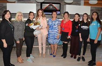 Özel Erkan Çukurova Mesleki ve Teknik Anadolu Lisesi İŞKAD'ı ziyaret etti.