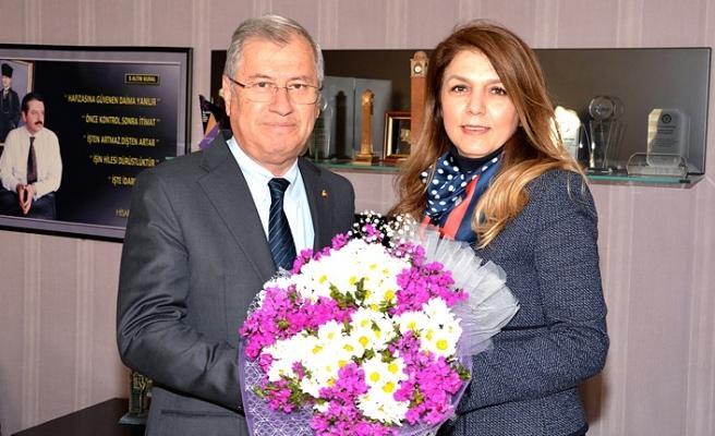 İŞKAD'tan Adana Ticaret Odası Başkanı Atila Menevşe'ye ziyaret.