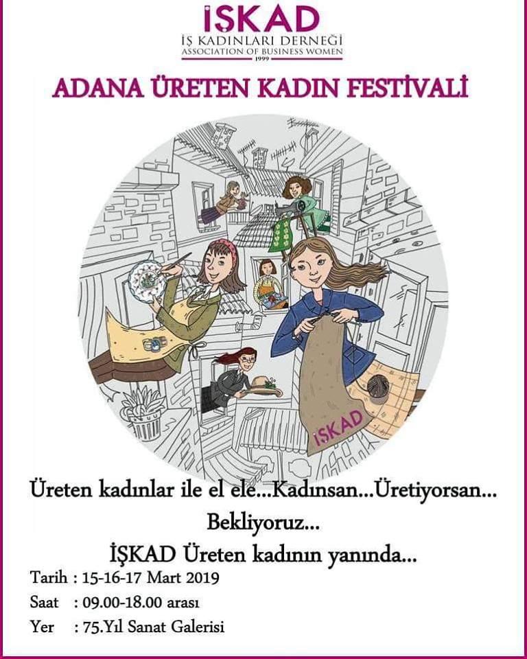 İŞKAD ÜRETEN KADIN FESTİVALİ
